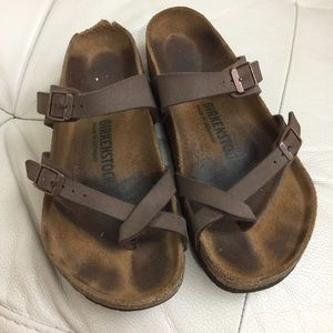 Birkenstock Mayari Leather Sandals